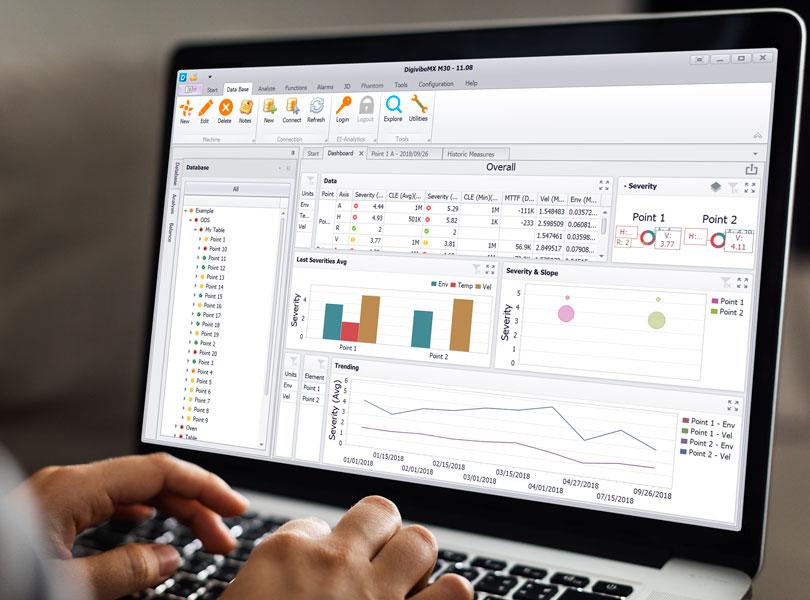 Vibration analysis software trendings