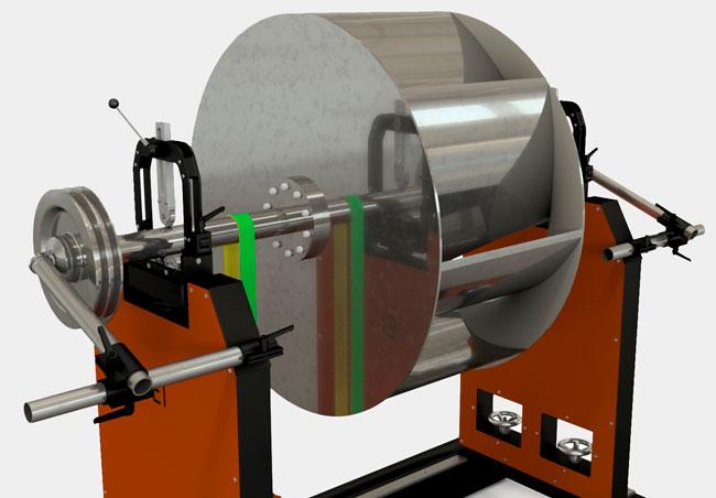 Balancing-Machine-2000kg-with-blower
