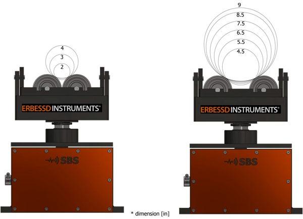 SBS2000 Shaft dimension