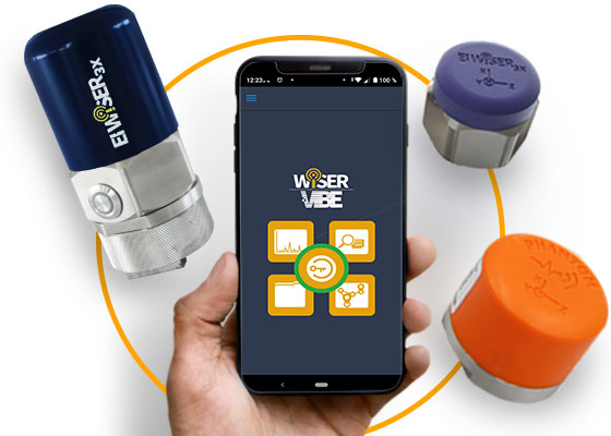 vibration analysis app connection options