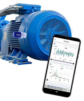vibration analysis app off route collection